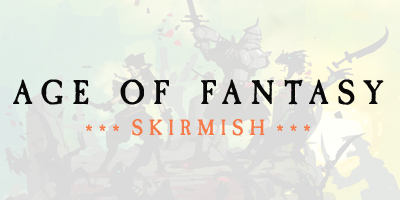 AoF: Skirmish – one page rules